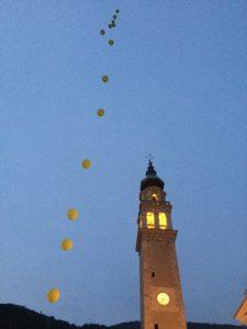 allestimento-manifestazioni con palloncini e palloni giganti